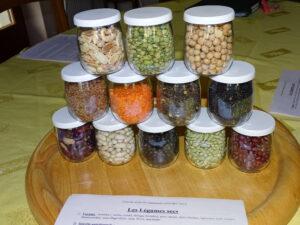 2) Les légumes secs